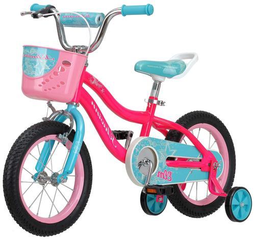 """Schwinn Elm Girl's Bike with SmartStart, 14"""" Wheels, Pink"""