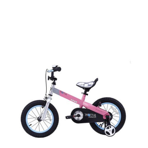 "Girls 12"" Bike Training Wheel 14"" Kids Bicycle For Boys"