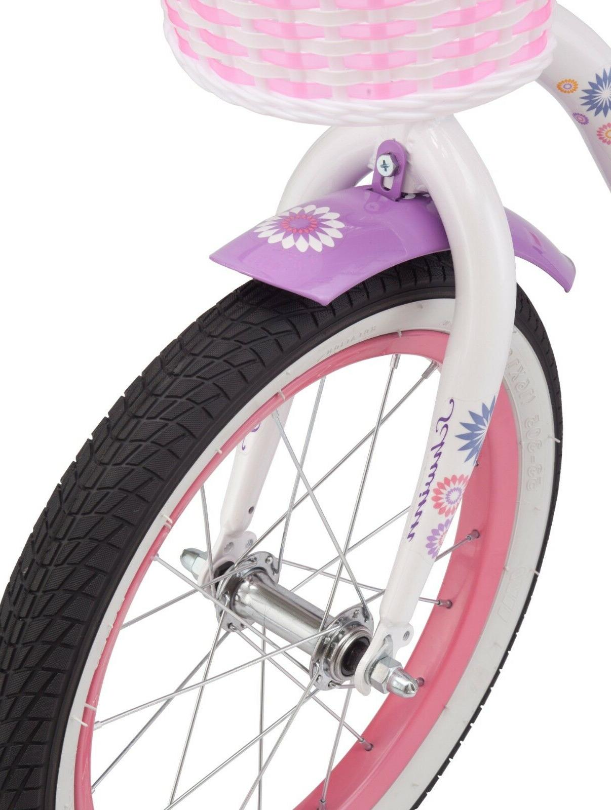 Girls Bike Children Kids With Training Wheels Inch