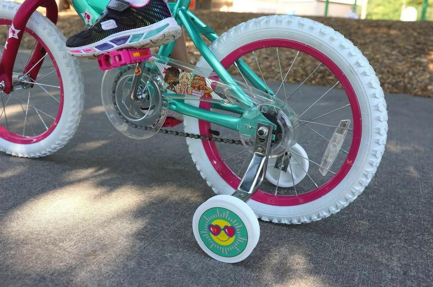 Barbie Girls Bicycle Minibike and Bag 4-7 yr