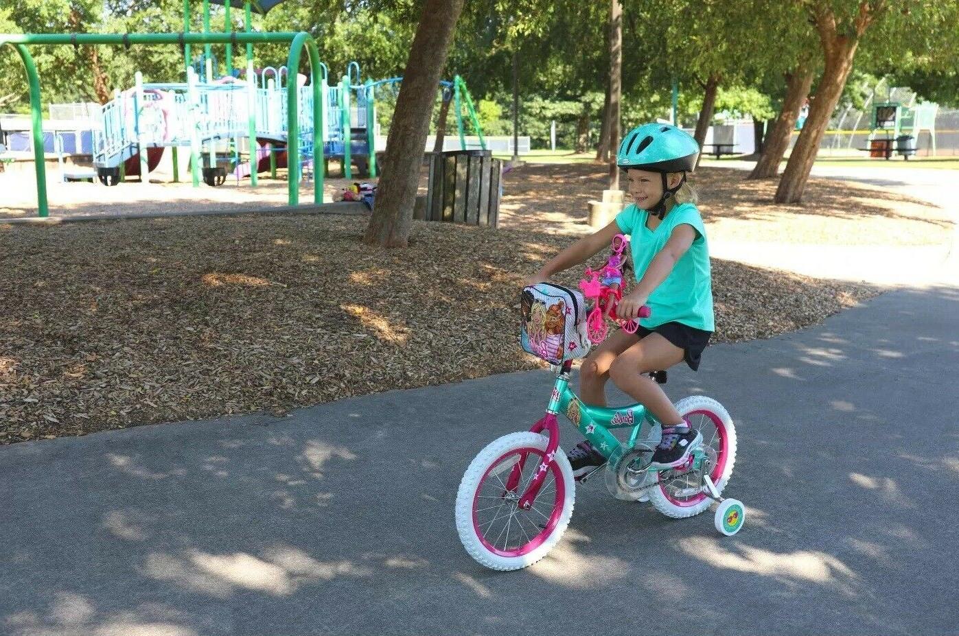 Barbie Girls Bike Bicycle inch Minibike and Bag 4-7