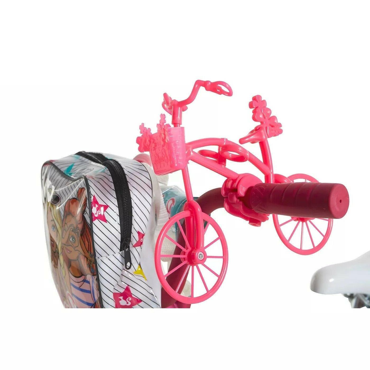 Barbie Girls Bicycle 16 Minibike and Handlebar 4-7