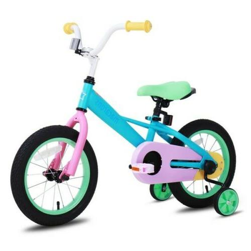 girls kids bike bicycle with quick release