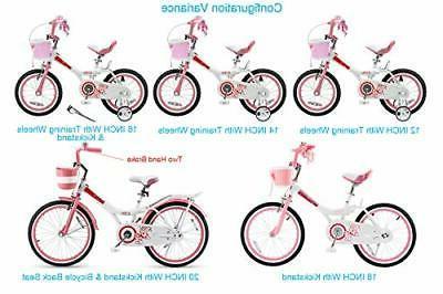 Girls Kids Bike Jenny Jenny Pink With Wheels