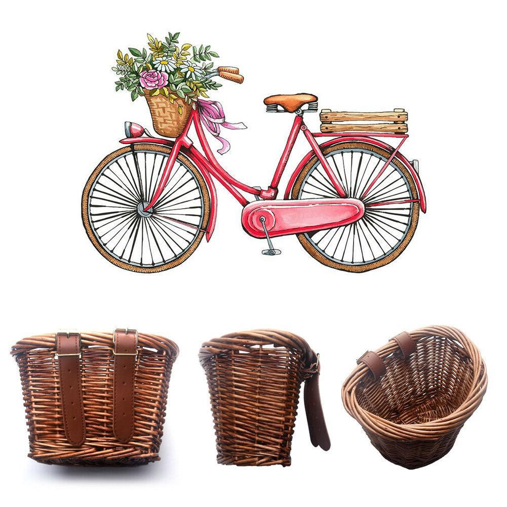 hand made kids childs rattan wicker basket