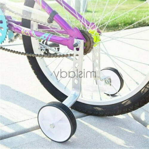 heavy duty children kid bicycle training wheel