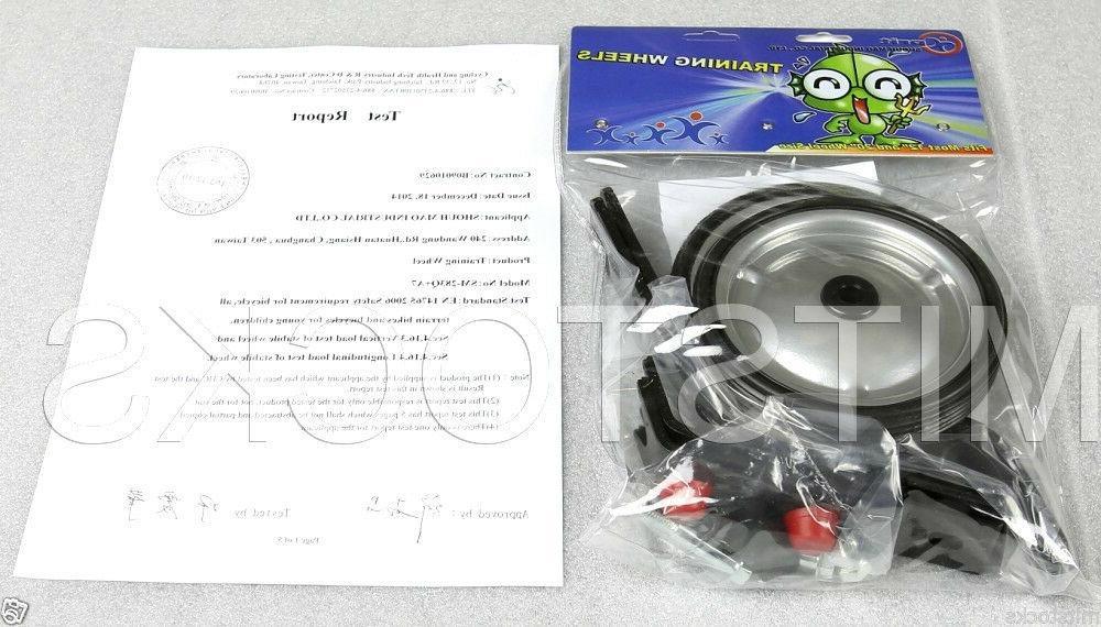 """Heavy Duty Bicycle Training Wheel 12"""" to EN Certified"""
