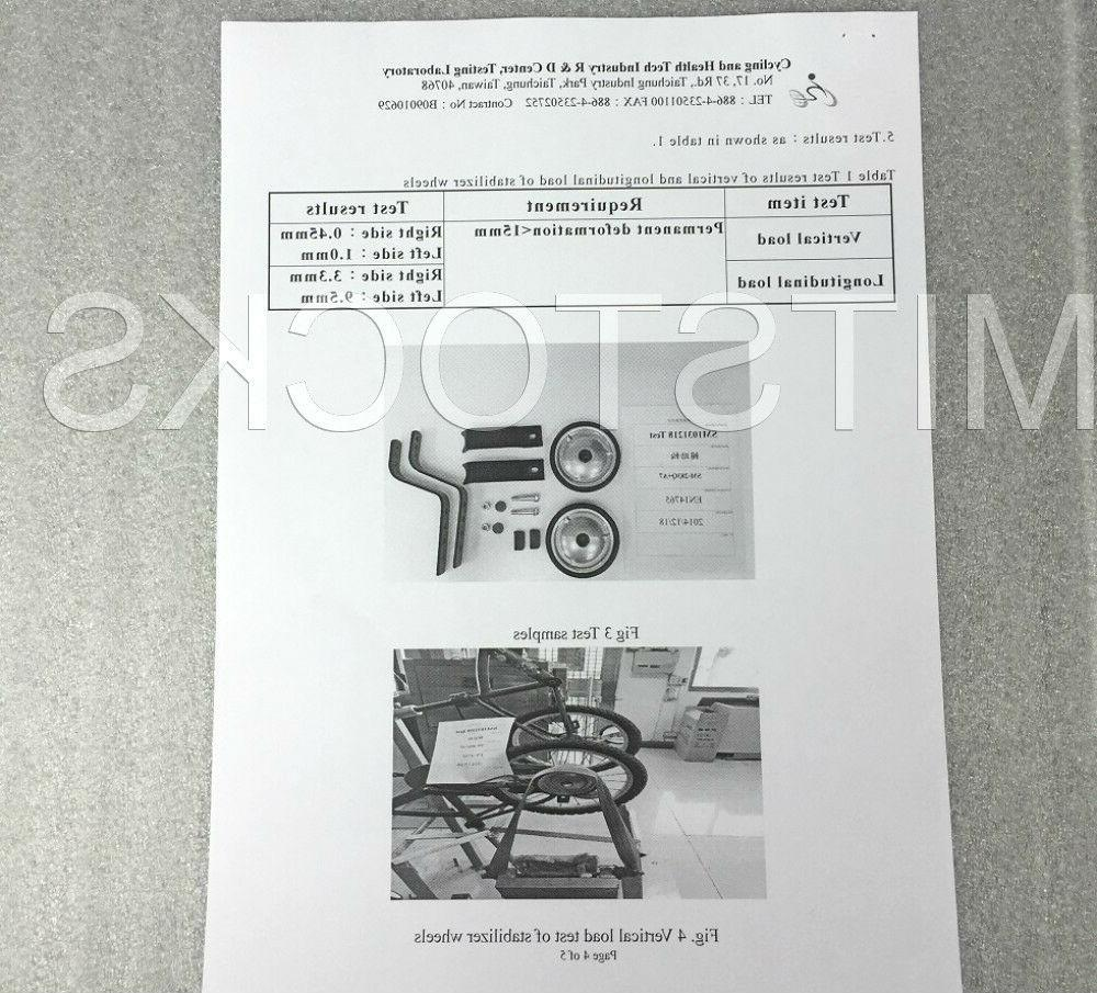 """Heavy Duty Bicycle Wheel to 20"""" EN Safety"""