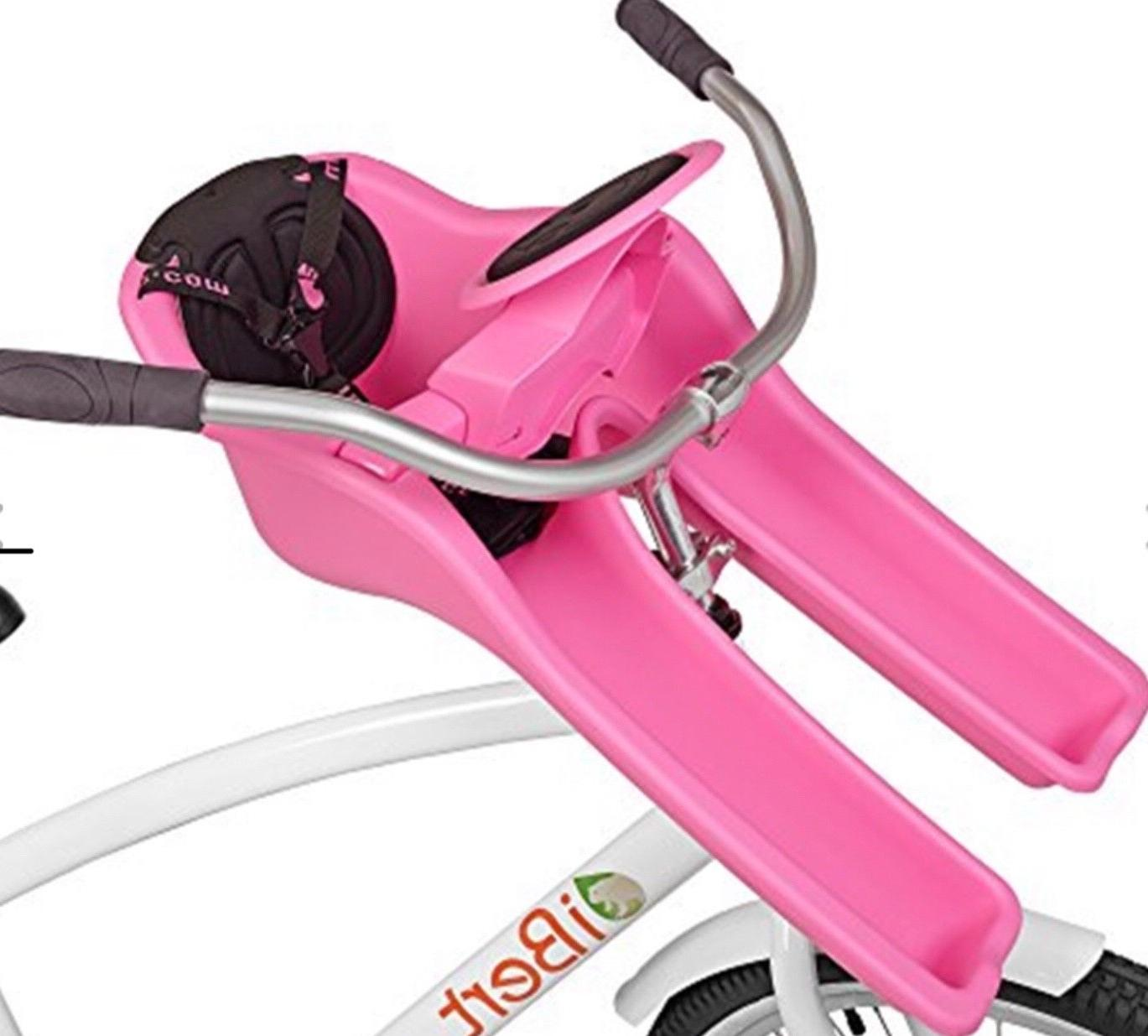 ibert child bicycle safe t seat pink