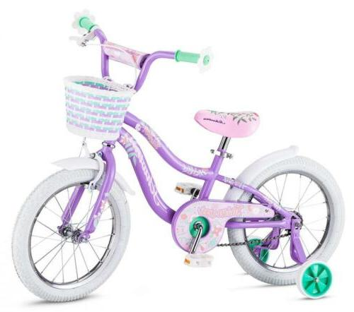 "Schwinn Jasmine Kids Bicycle 16"" wheel size, 4 to 7 training..."