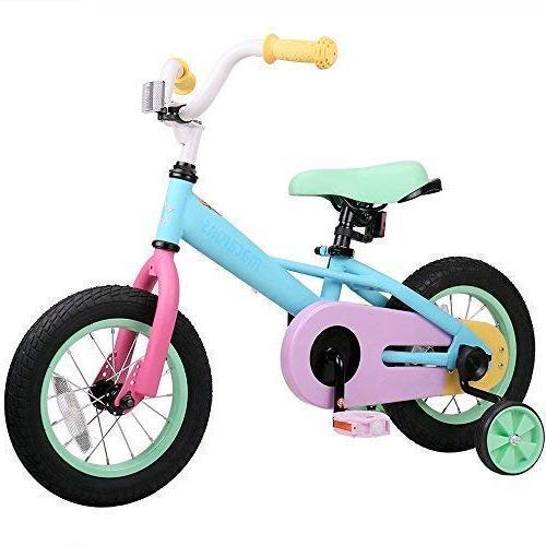 JoyStar 12 /& 14 Inch Girls Kids Bike Bicycle with Quick Release Trainning Wheel