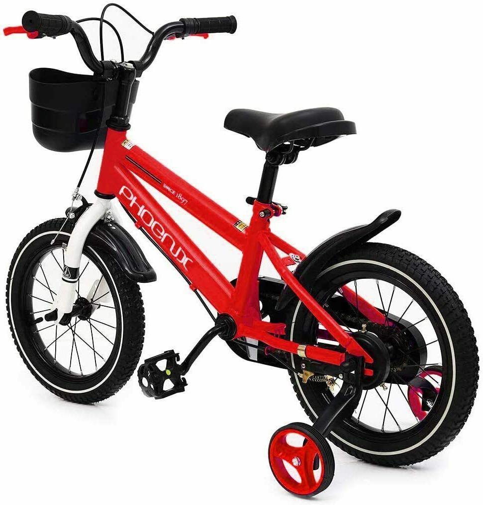 Phoenix KAKU 16 18 Bike Boys Girls With Training Wheels