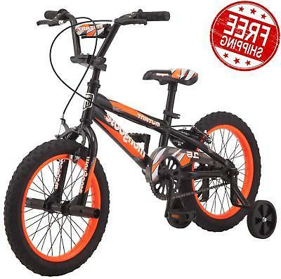 kids 16 inch training wheels bike boys