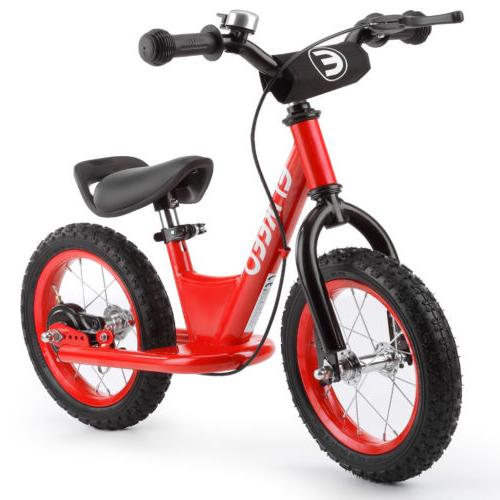 Kids Balance Bike Learn Ride Adjustable Handlebar and