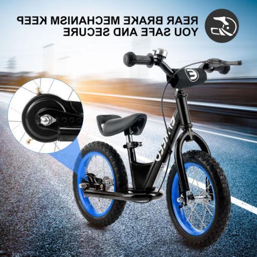 Kids Bike Learn Ride Adjustable and