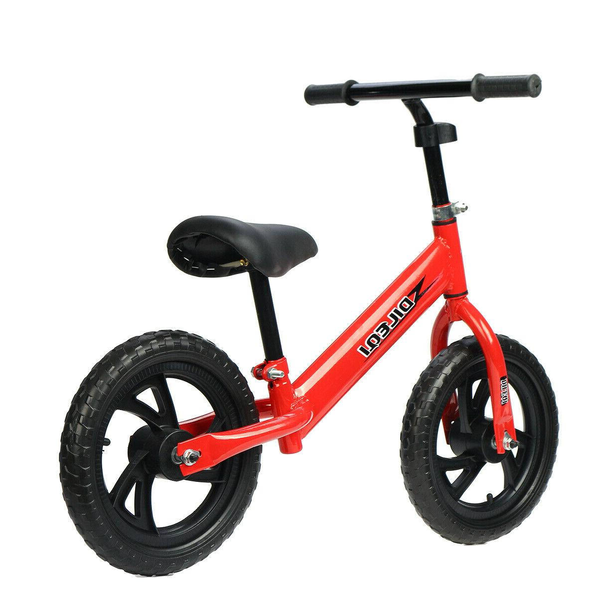 Kids No Pedal Bicycle Toy Seat