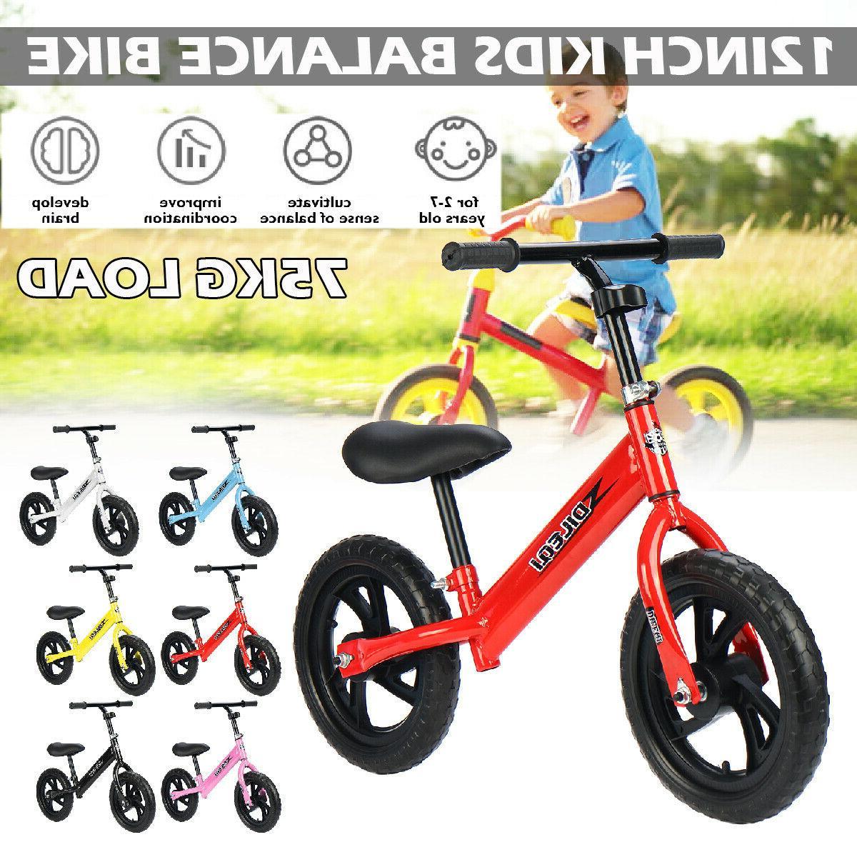 Kids No Bicycle w/ Adjustable Seat