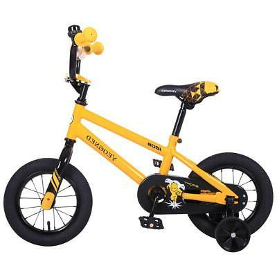 Kids Bicycle 12 16 20 Inch Sizes W Training Wheel Available