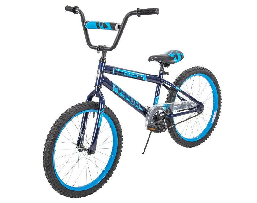 kids bike 20 inch pro thunder blue