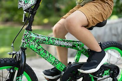 """Kids Bicycle Girls w/ Training Wheels Coaster Fun 16"""""""