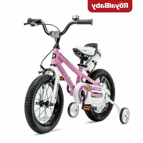 RoyalBaby Kids Bike Boys Girls Freestyle Bicycle 14inch Trai