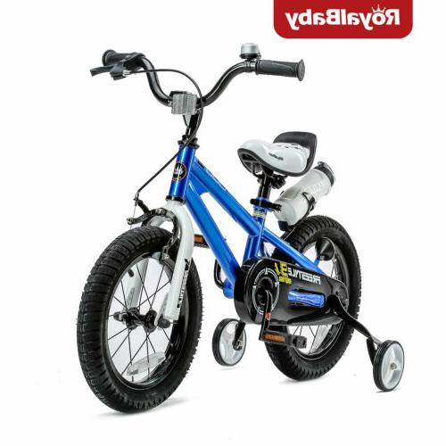 "16"" Royalbaby Freestyle Kids' Bike, Blue"