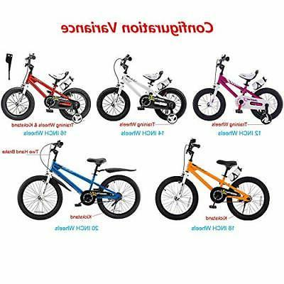Kids Freestyle Bicycle 12 14 16 inch Wheels,16
