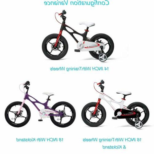 Kids Bike for Boys and Magnesium Bicycle 2 Hand Disc Brakes