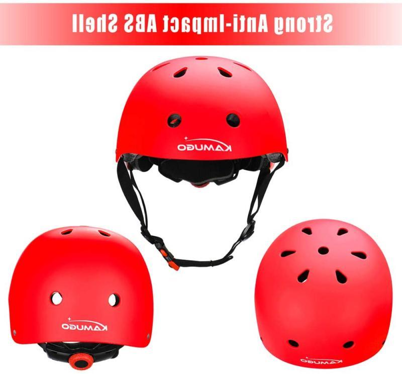 KAMUGO Kids Toddler Helmet 3-8 Boys Sports