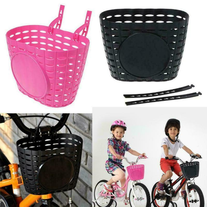 Kids Children Bike Front Shopping Bag Handlebar Basket