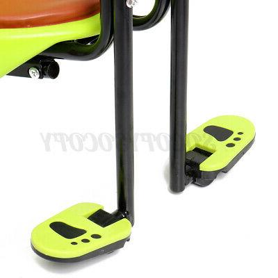 Kids Front Bike Seat Child Bicycle Baby Carrier Saddle Pedal US