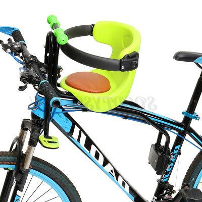 kids front bike seat child bicycle safety