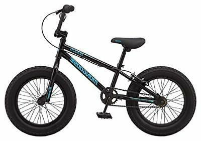 Kids Toddler Fat Mountain Bike, 16-20-Inch 3-4.25-Inch Wide Tires