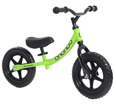 Banana Bike Lightweight Balance Kids & 4 Olds Green