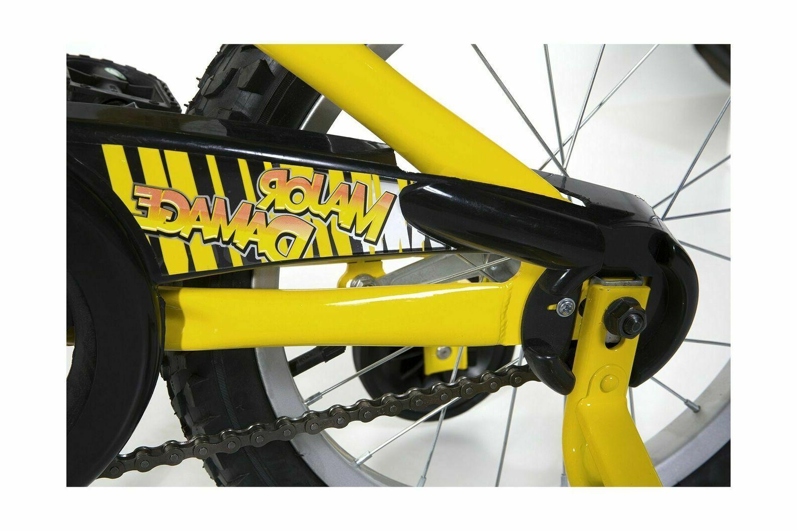 Dynacraft Major Bike for inch Yellow/Black
