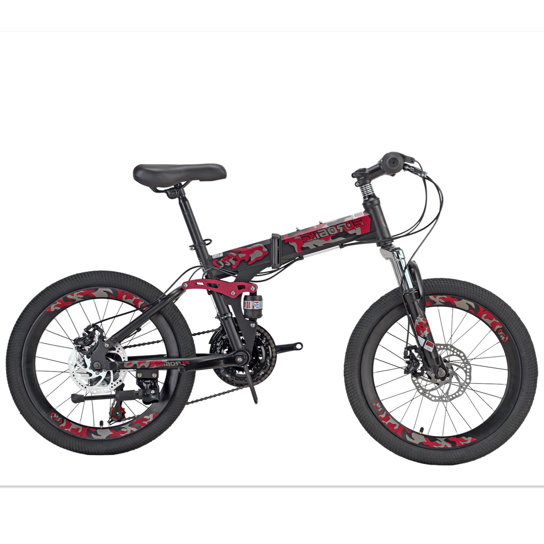 Mountain Bike for 20 inch Daul Disc Brakes Folding for boys/girls