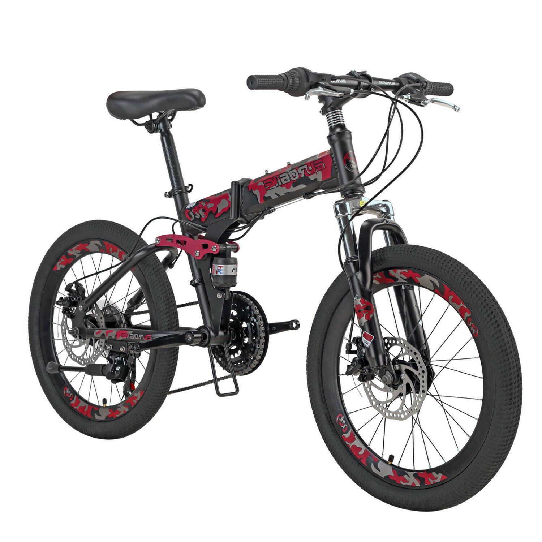 Mountain Bike 20 Brakes Folding Bicycle boys/girls