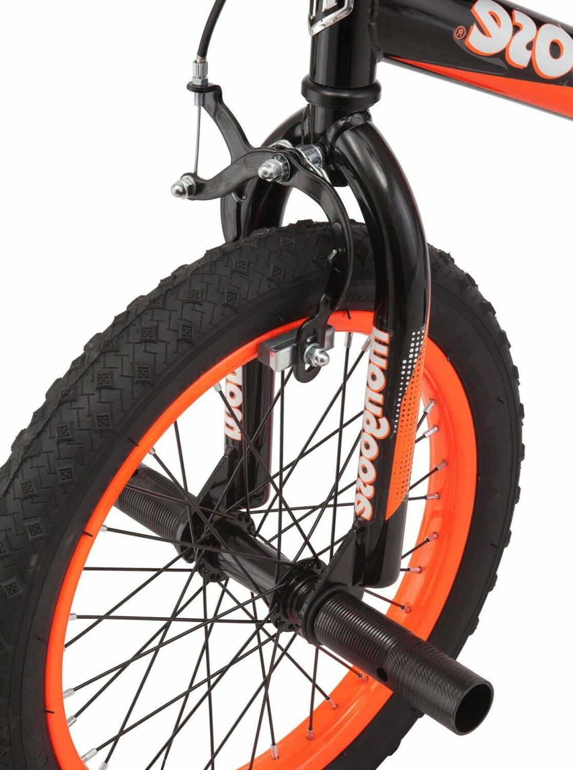 Mongoose BMX-Style Bike, 3 - 5, & Orange