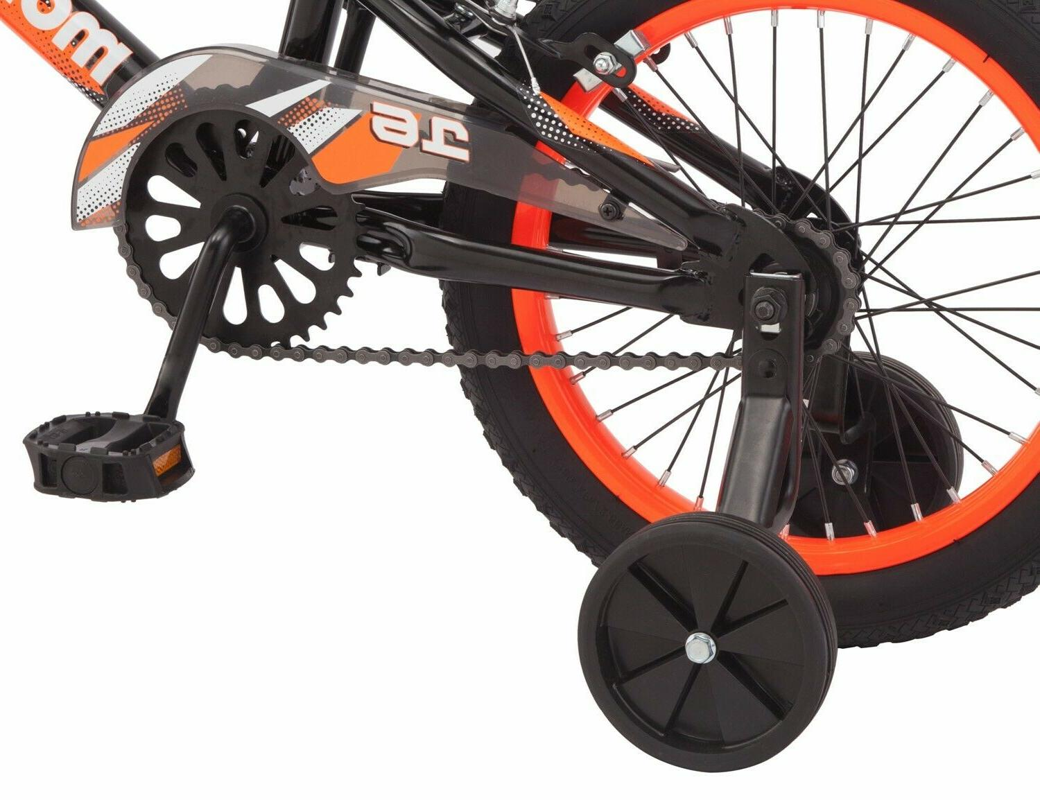 Mongoose Mutant Bike, 16-inch wheels, 3 & Orange