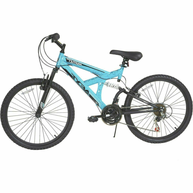 NEW DYNACRAFT Gauntlet 24 inch Mountain Bike - Blue ✅ SHIP
