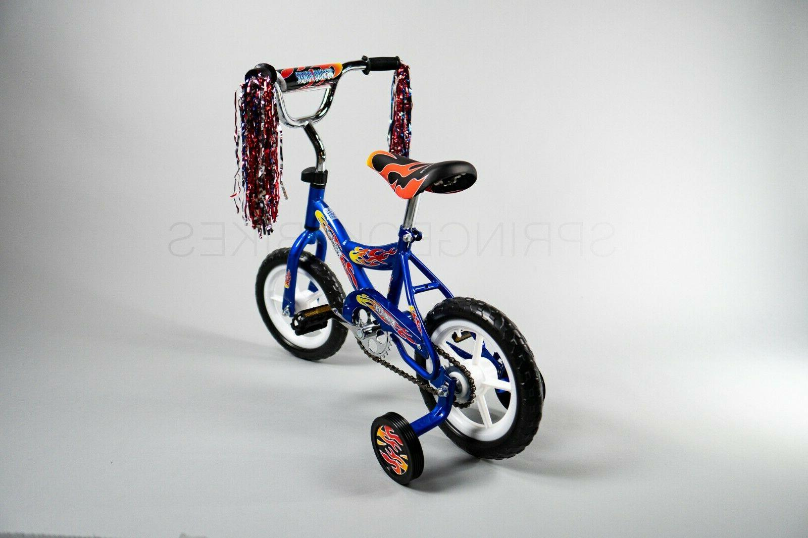 New inch Boys Bike with Training Wheels Toddlers