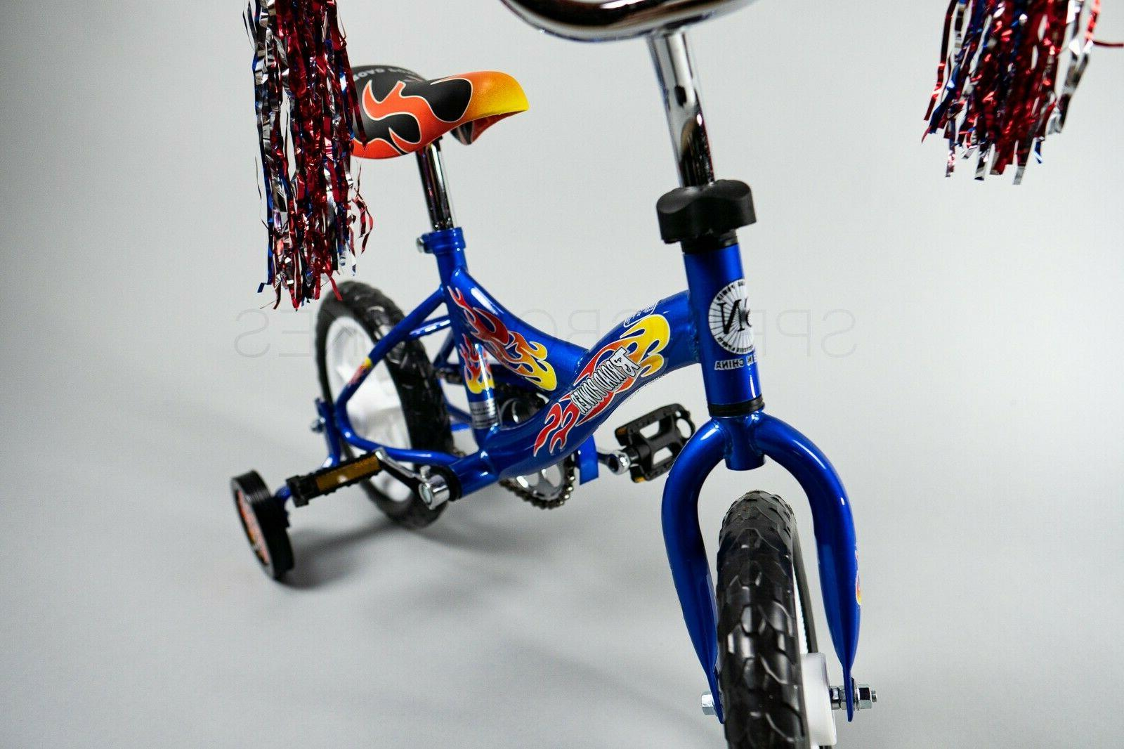 New Box 12 with Training Wheels Toddlers