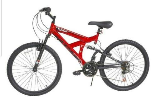 next 24 gauntlet boys bike red new