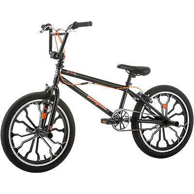 "Mongoose BMX Bike, 20"" aluminum mag ages 6 and"
