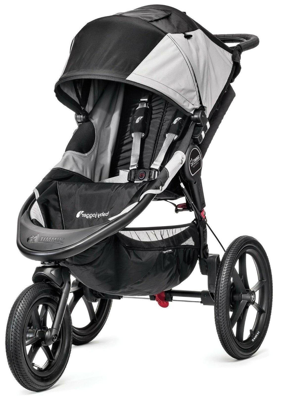 Baby Jogger Summit X3 Single Child Jogging Stroller Black