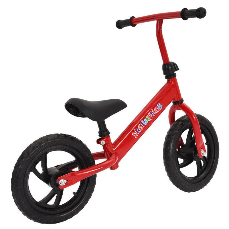 Kids Balance Bike Walker No Pedal Childs Training Bicycle To