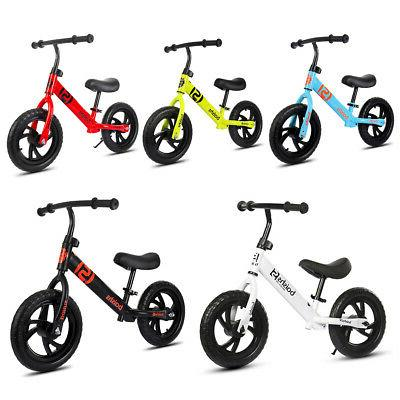 US 12'' Bike Classic No-Pedal Learn To Ride Pre Kids