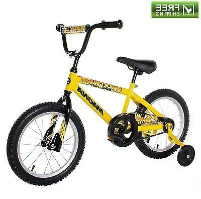 yellow boys bike 16 children starter bicycle