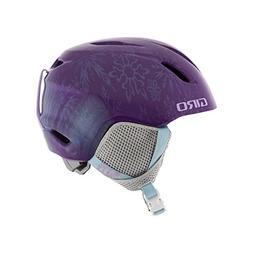Giro Launch Plus Kids Snow Helmet Purple Disney Frozen S