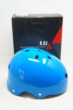 Triple Eight Lil 8 Dual Certified Helmet, Blue Glossy